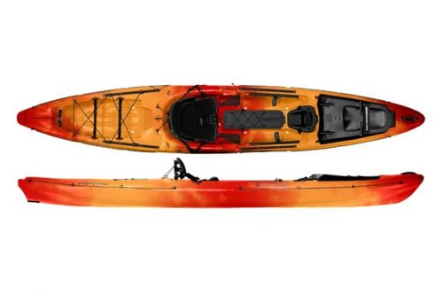 wilderness systems thresher 155 fishing kayak review