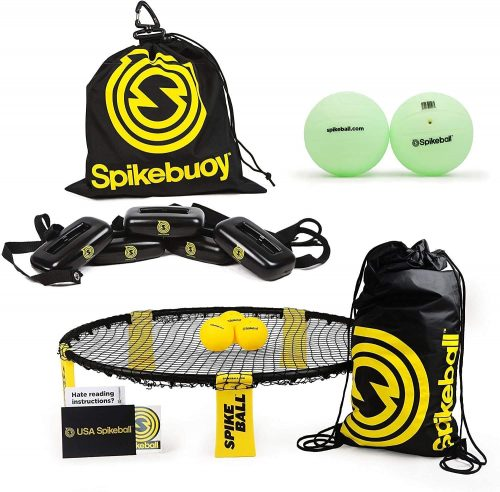 Spikeball with glow balls
