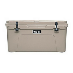 Tan YETI 65 Rotomolded Cooler