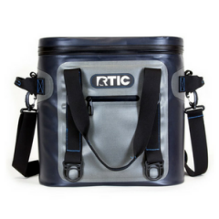 New RTIC softpak 20 gray & blue